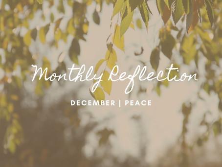 December | Peace