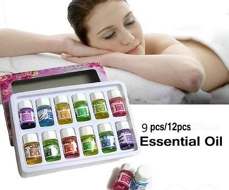 Conjunto Óleos Massagem com aroma de Frutas