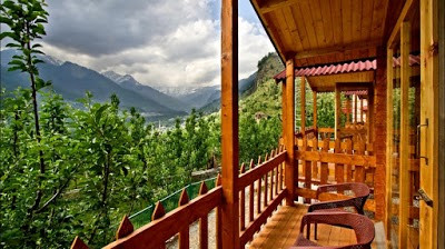 Wooden Cottage View