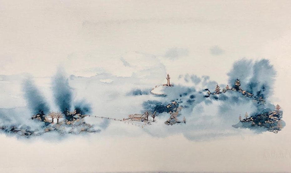 Contemporary Watercolours with Ingrid Bowen Saturday 22 February 2020
