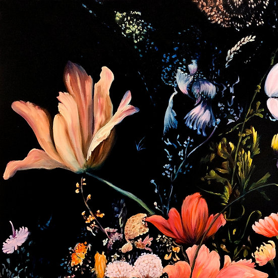 Painting  Flowers in Oils with Megan Seres Saturday 24th April 2021