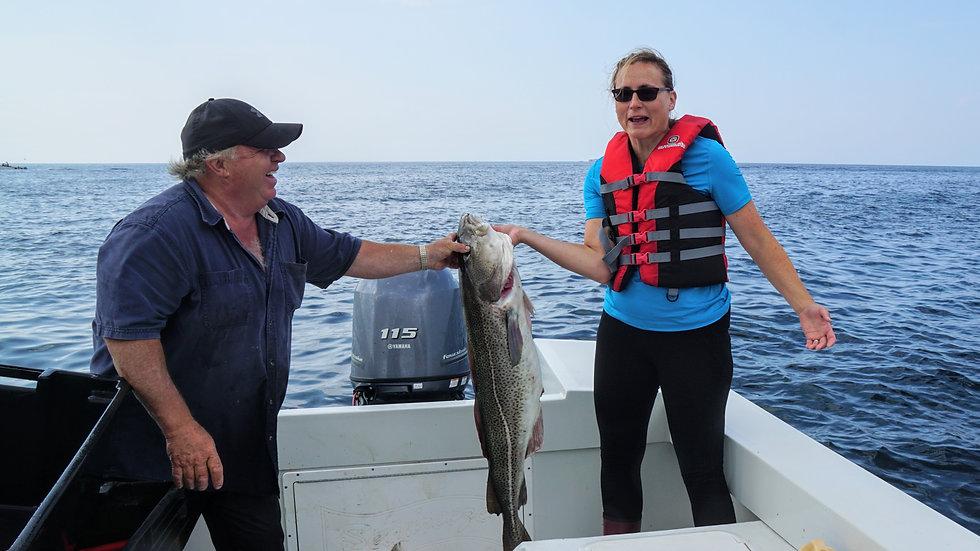 Cod fishing tour