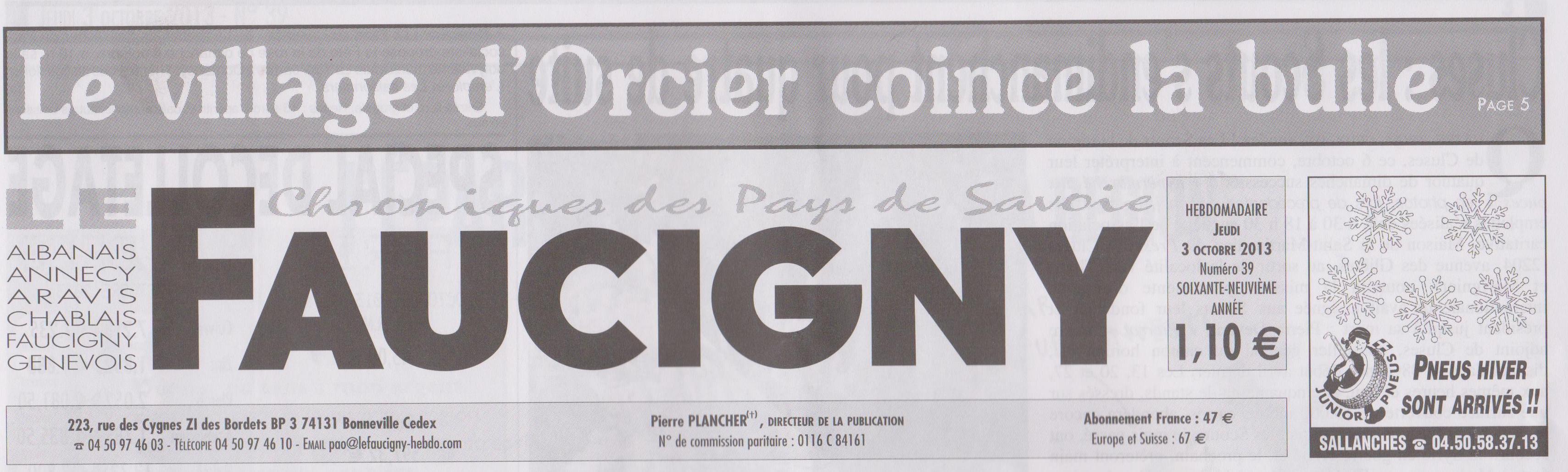 titre Faucigny - 03-10-13