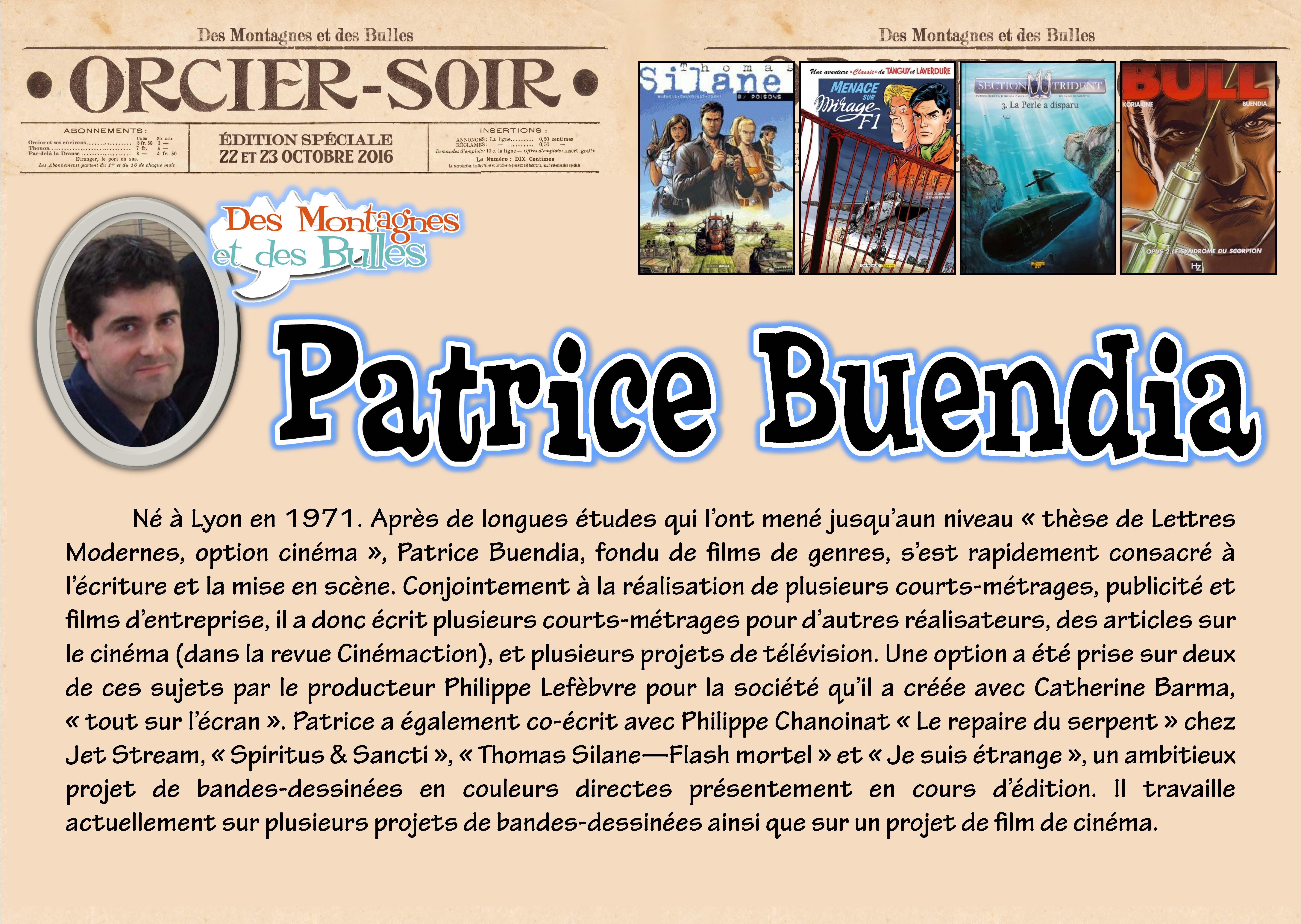 16 Patrice Buendia 2016