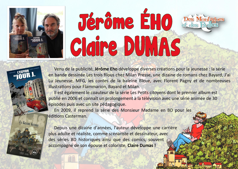 Jérôme Eho et Claire Dumas