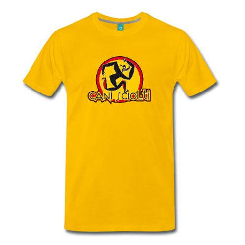 T-Shirt Uomo Premium - Giallo sole
