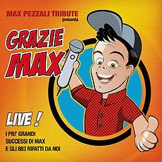 Max Pezzali Tribute Cover Art