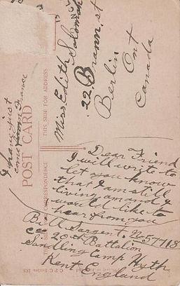 William James Sargent postcard back.JPG