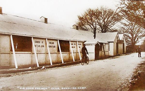The Sir John French Club. Sandling Camp, Saltwood.