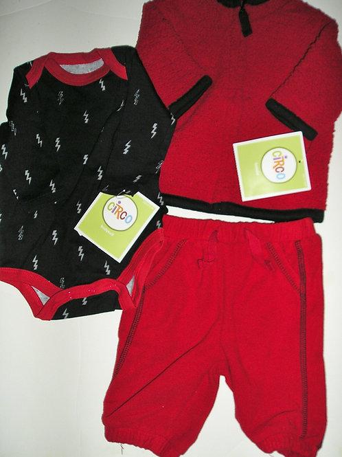 Circo black/red size N