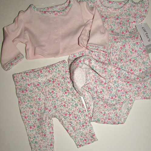 Carters 3 pc dress set size P