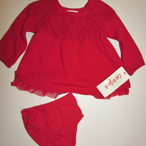 Cat & Jack red size 0-3 mos