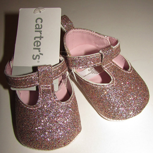 Carters pink/multi sparkle size N