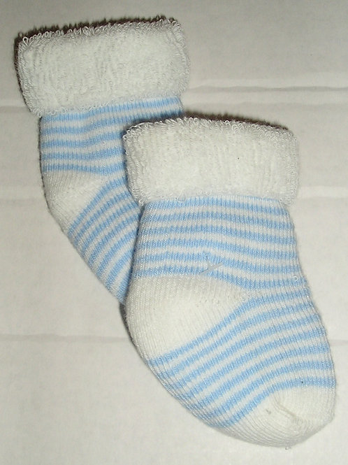 Child of Mine socks white/blue size N