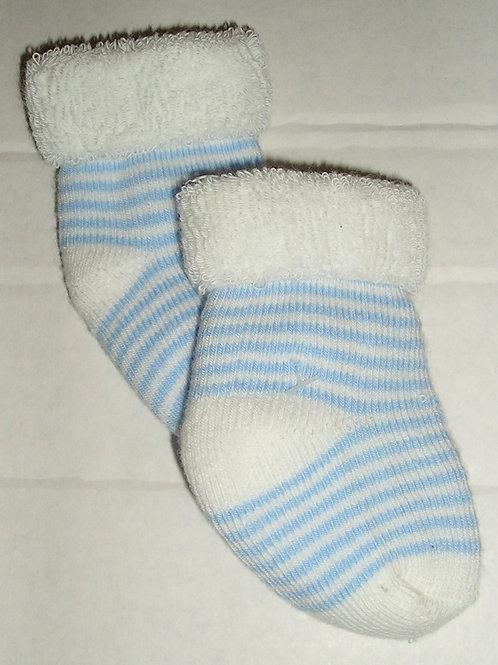 Child of Mine socks white/blue size N