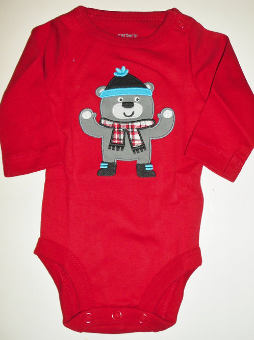 Carters red/bear size N