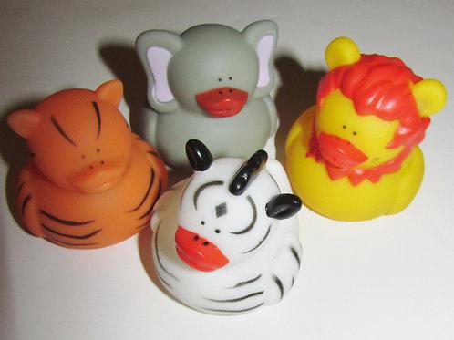 Basic set of 4 squirters/ducks