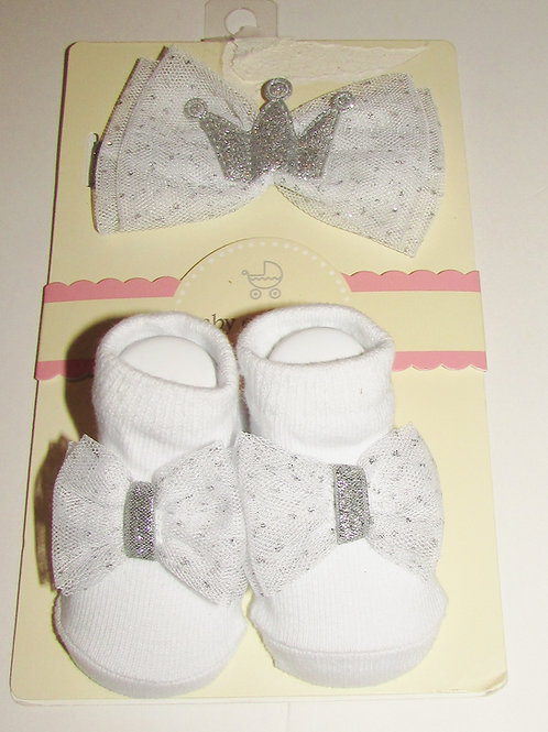 Baby Essentials white size 0-6 mo