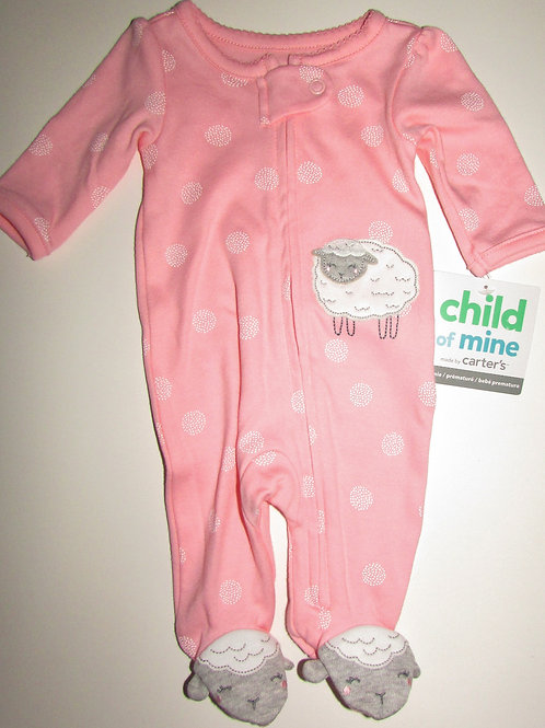 Child of Mine sleeper pink size P