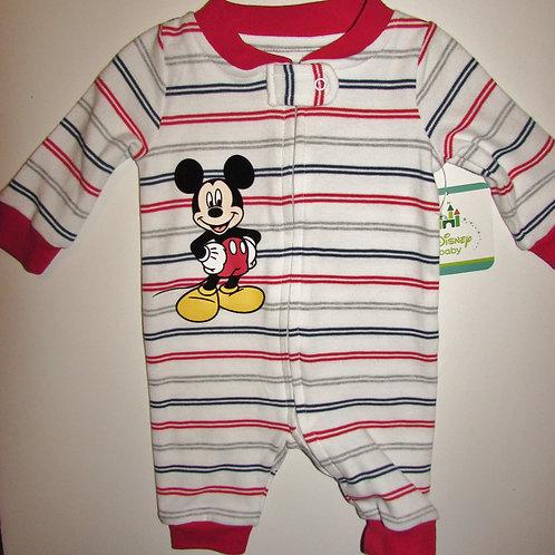 Disney red/stripes Mickey size N
