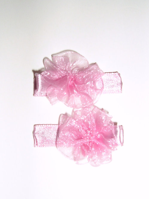 Gold Bug barrette/lace bow