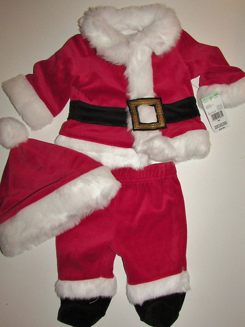 Little Wonders 3 pc Santa suit size N