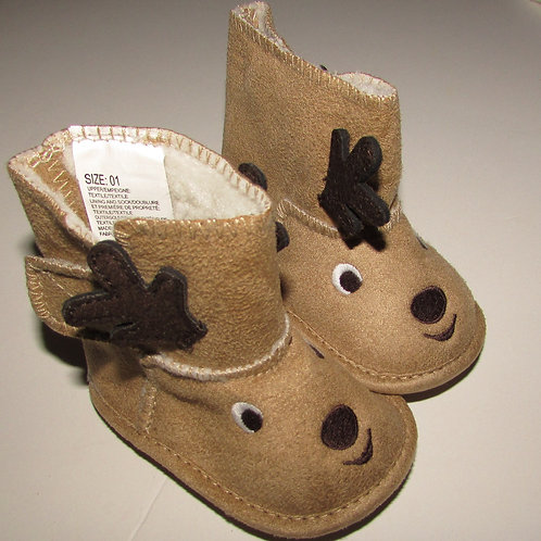 Child of Mine boots tan/deer size 1