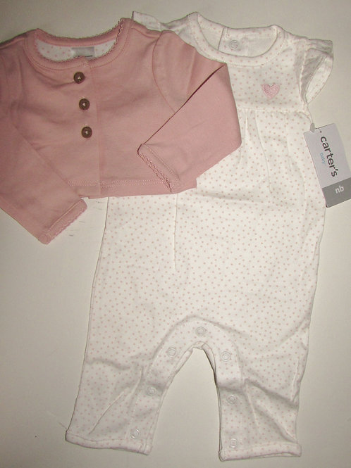 Carters 2 pc set size N