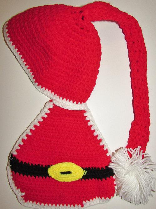 Knit photo prop Santa size LP-SN