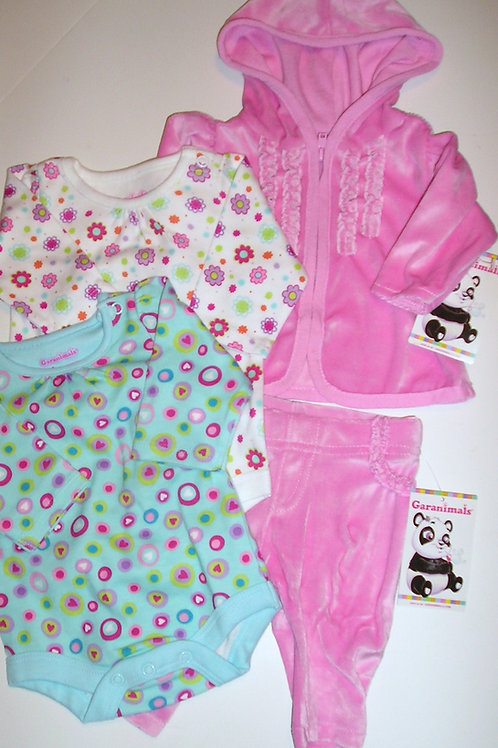 Garanimals 4 pc set size N