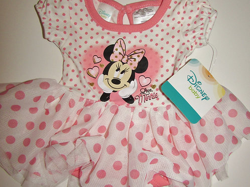 Disney white/pink Minnie size N