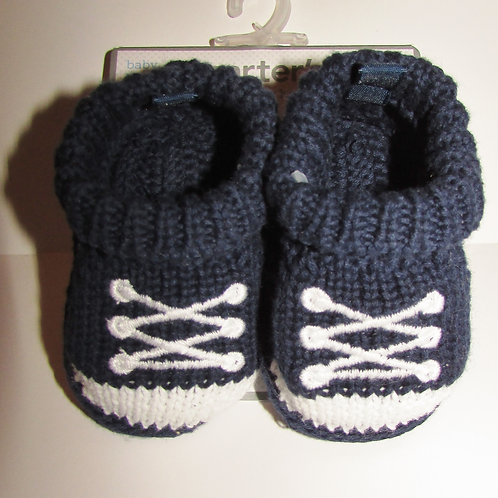 Carters knit navy/white size N