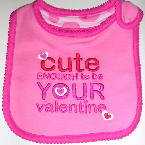 Just One You bib pink/cute