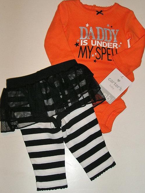 Carters orange/black size N