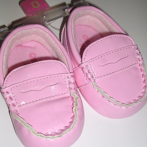 Baby B'Gosh loafers pink size 0
