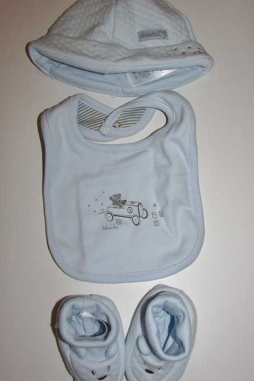Absorbia set blue size 0-3 mo