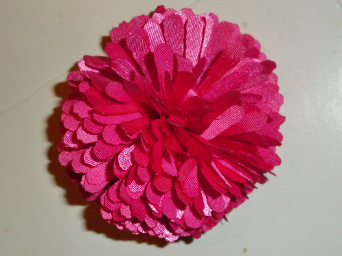 Faded Glory barrette clip with pink ruffle