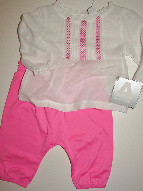 Amy Coe white/pink size N