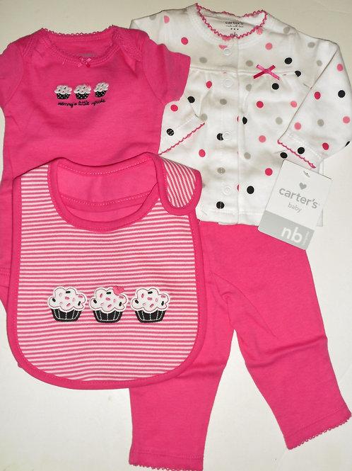 Carters pink/cupcake size N