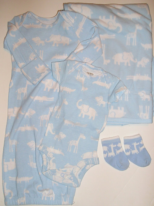 Carters blue/white size N