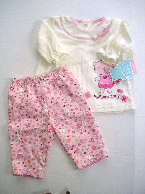 Child of Mine  pink/bear size N