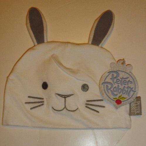 Peter Rabbit hat white/gray size LN