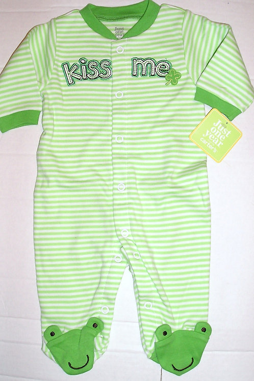 Carters sleeper St Pats size N
