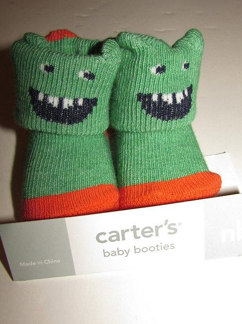 Carters socks green size N