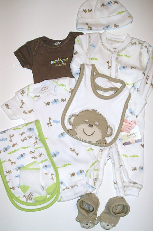 Carters brown/monkey size N