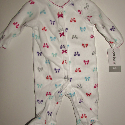 Carters white/bows size N