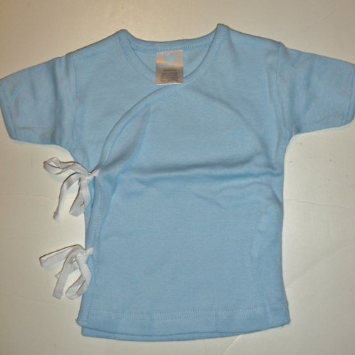 Cotton Tree tie tee blue L Newborn