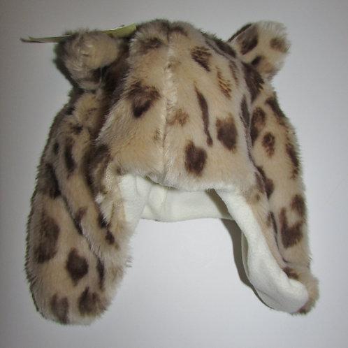 Cherokee fleece hat animal print size 0-24 mo