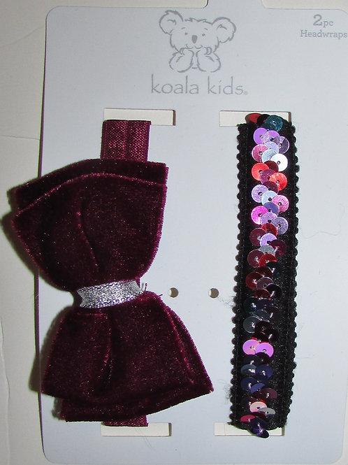 Koala Baby 2 pc headwraps style 0-12 mo