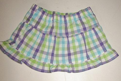 Garanimals skirt purple/plaid size N